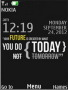 Future Clock S40 Theme themes