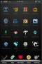 Black Wallpaper ICons IPhone Theme themes