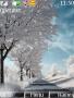 Winter Road Nokia S40 Nature Theme themes