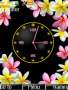 Flower Clock Theme themes