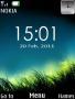 Night Grass Clock themes