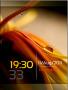 Silky Leaf Clock Nokia Theme themes