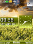 Wheat Field Clock themes