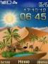 Live 3D Clock Nature themes