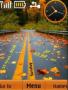 Autumn Dual Clcok themes