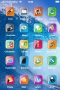 Blue Clear Waves Free IPhone Theme themes