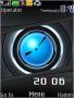Carbon Blue Clock themes