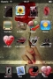 Bacio Lussuoso Apple IPhone Theme themes