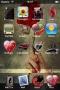 Bacio Lussuoso Apple IPhone Theme themes