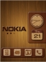 Nokia Metalic Clock themes