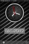 Striped Clock Black IPhone Theme themes