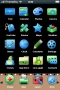 Simple Blue ICons Free IPhone Theme themes