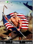 John Cena With Flag S40 Theme Free Mobile Themes