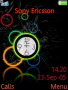 Circle Clock Free Mobile Themes
