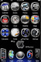 Gun Metal Redux Apple IPhone Theme themes
