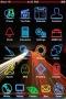 Fluorescent Apple IPhone Theme themes