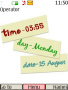 Time And Date Clock themes
