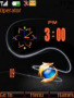 Firefox Dual Clock themes