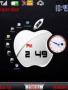 Apple Dual Clock Free Mobile Themes