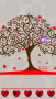 3D Love Tree For Android Theme themes