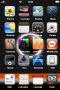 Solarize Black Shine Stars IPhone Theme themes
