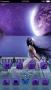 Monn Light Purple Space Girl Android Theme themes