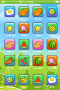 Fruits Icons Field For IPhone Theme themes