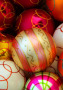 Christmas Coloursful Balls IPhone Wallpaper wallpapers