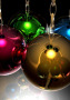 Happy New Year Christmas Balls wallpapers
