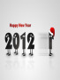 Christmas New Year 2012 wallpapers