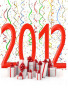 Surprising New Year 2012 wallpapers