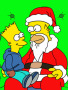 Xmas Simpson wallpapers