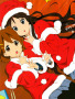 Anime Christmas Girls wallpapers