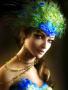 Peacock Girl wallpapers