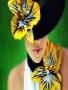 Beauty Flower Girl wallpapers