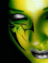 Green Face Tattoo wallpapers