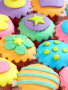 Cute Colors Cakes wallpapers