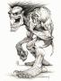 Dangrious Skull Sketch wallpapers