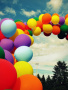 Colors Style Balloons wallpapers