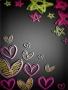 Star N Heart wallpapers