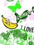 Green And Banana wallpapers