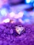 Purple And Heart wallpapers