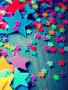 Colorful Starlets wallpapers