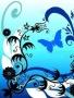 Blue Butterfly Art wallpapers