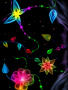 Neon 3D Flowers wallpapers