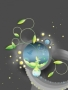 Abstract Planet Green wallpapers