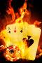 Fire Poker Card IPhone Wallpaper wallpapers