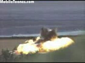 High-speed-car-explosion Mobile Video