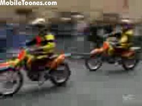 7 Motorcycles In A Spherical Steel Cage Mobile Video