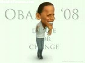 Obama Funny Dance Mobile Video